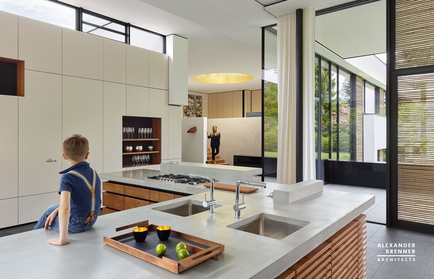 Post Bredeney bredeney house by brenner architects kitchen cozinha