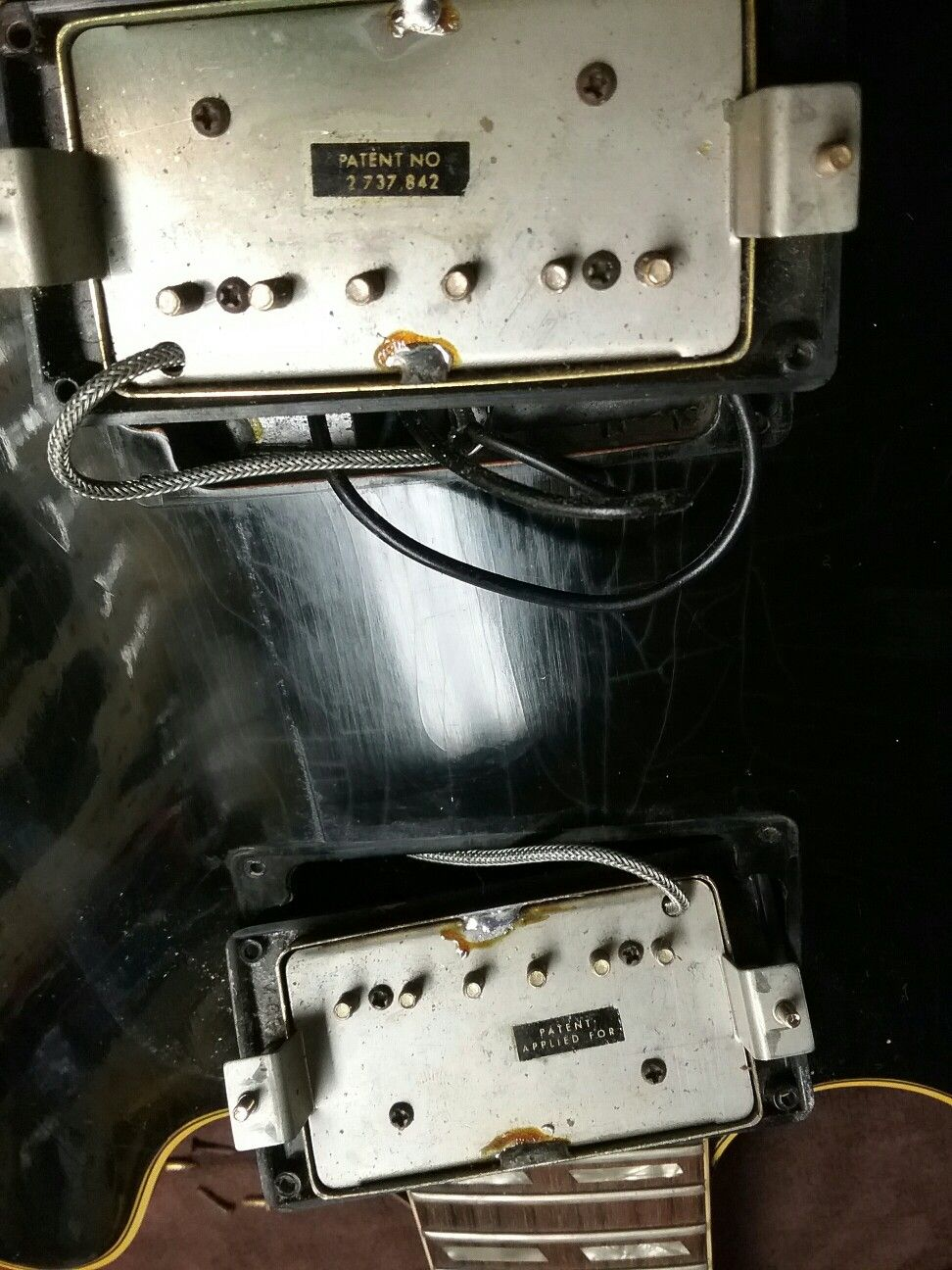 Paf Pickups On Gibson Es 345 With Images Guitar Amp Body