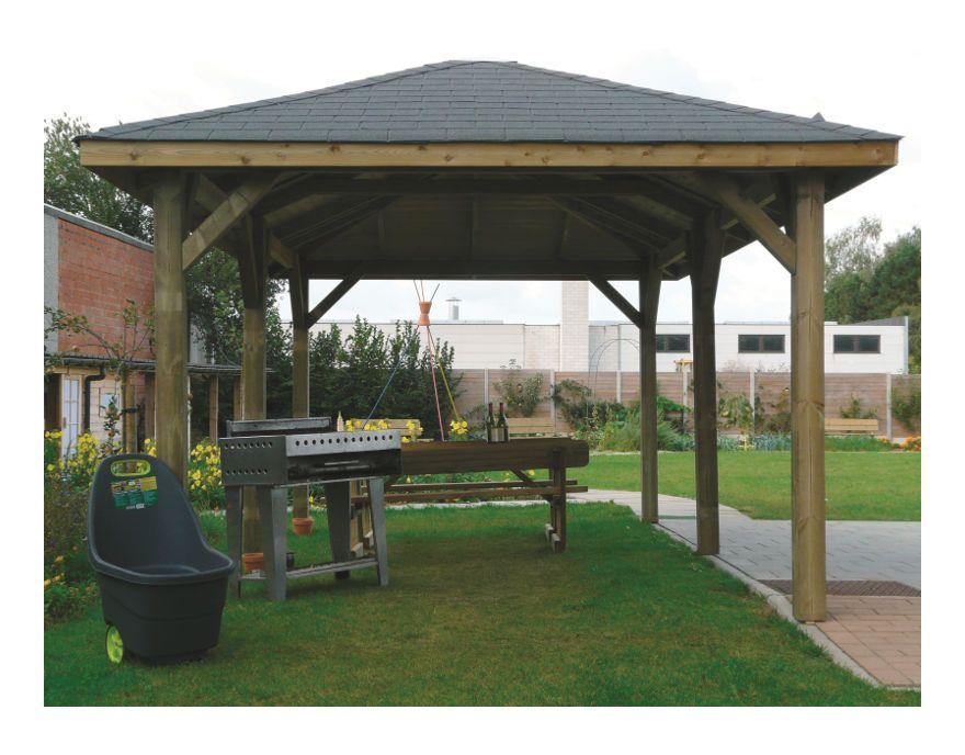 Kiosque 6290x3470 Solid Pergola Backyard Outdoor
