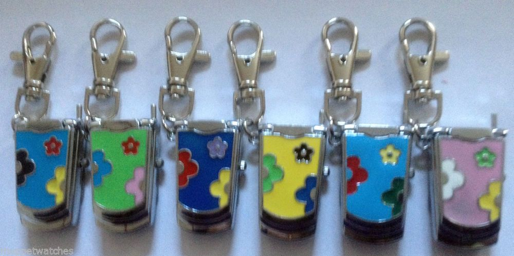 key clip bros tweety bird warner tunes looney pin watches pocket metal chain ring