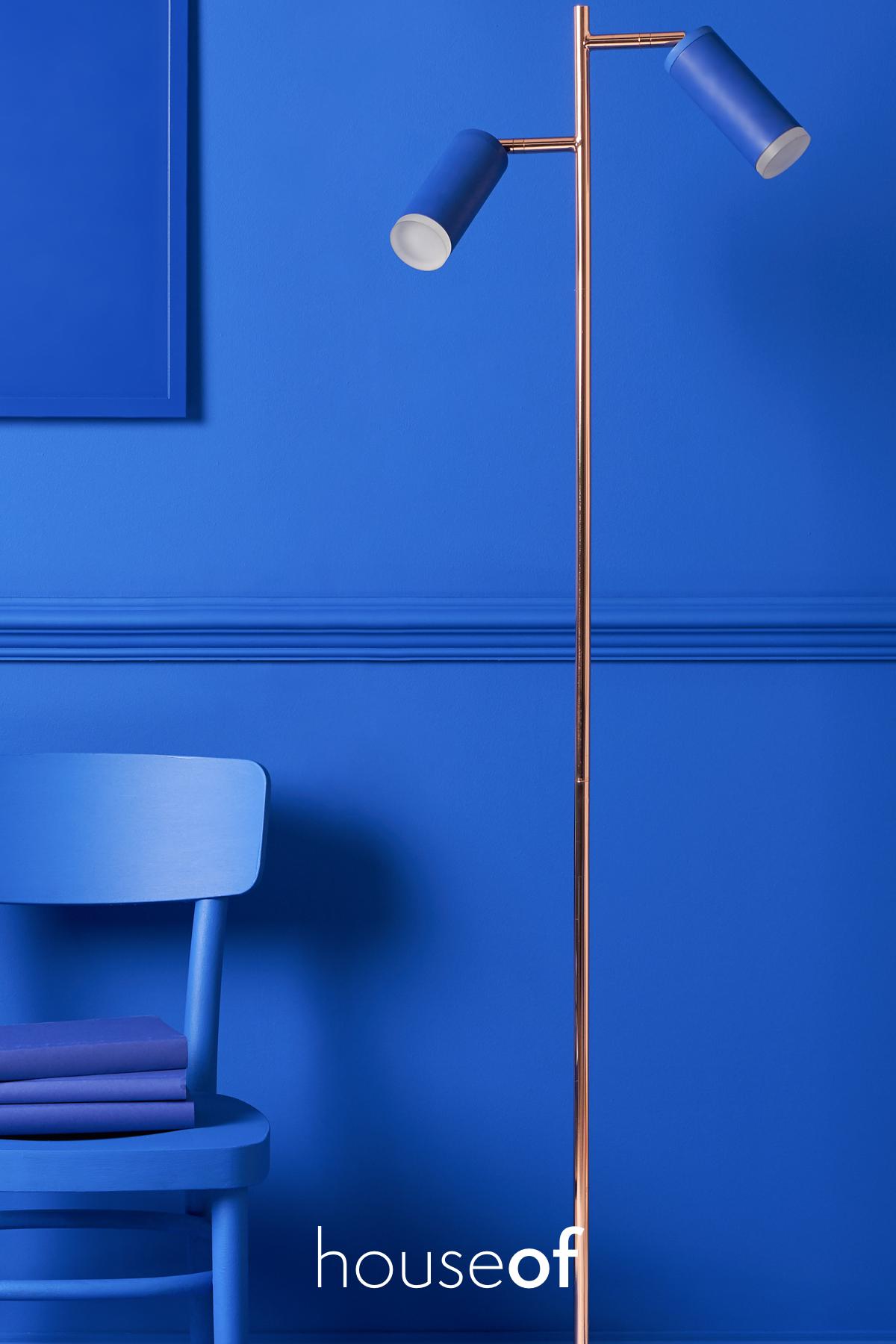 Task Floor Lamp Blue Blue Floor Lamps Floor Lamp Task Lamps