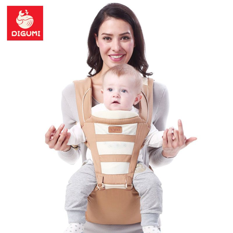 d172e326cb3 Find More Backpacks   Carriers Information about DIGUMI 0 36m Infant  Toddler Baby Carrier Sling Backpack Bag Gear With Hipseat Warm Wrap Newborn  Cover Coat ...