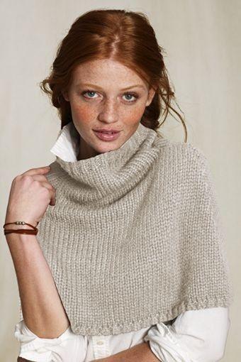 Capelet   To knit   Pinterest   Stricken, Handarbeiten und Strick