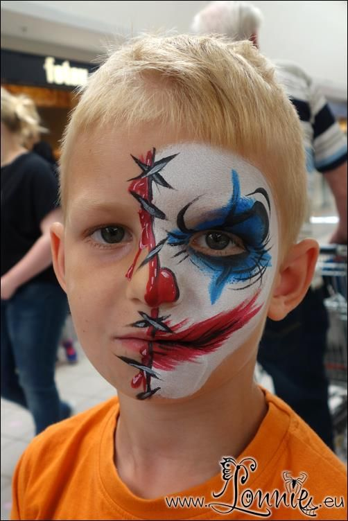 13315569 1222879544413535 7070460678739638266 N Jpg 502 752 Face Painting Halloween Clown Face Paint Scary Clown Face
