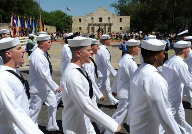 Viva Fiesta San Antonio Celebrates Fiesta In April Navy Day At The Alamo Navy Day Navy Mom San Antonio