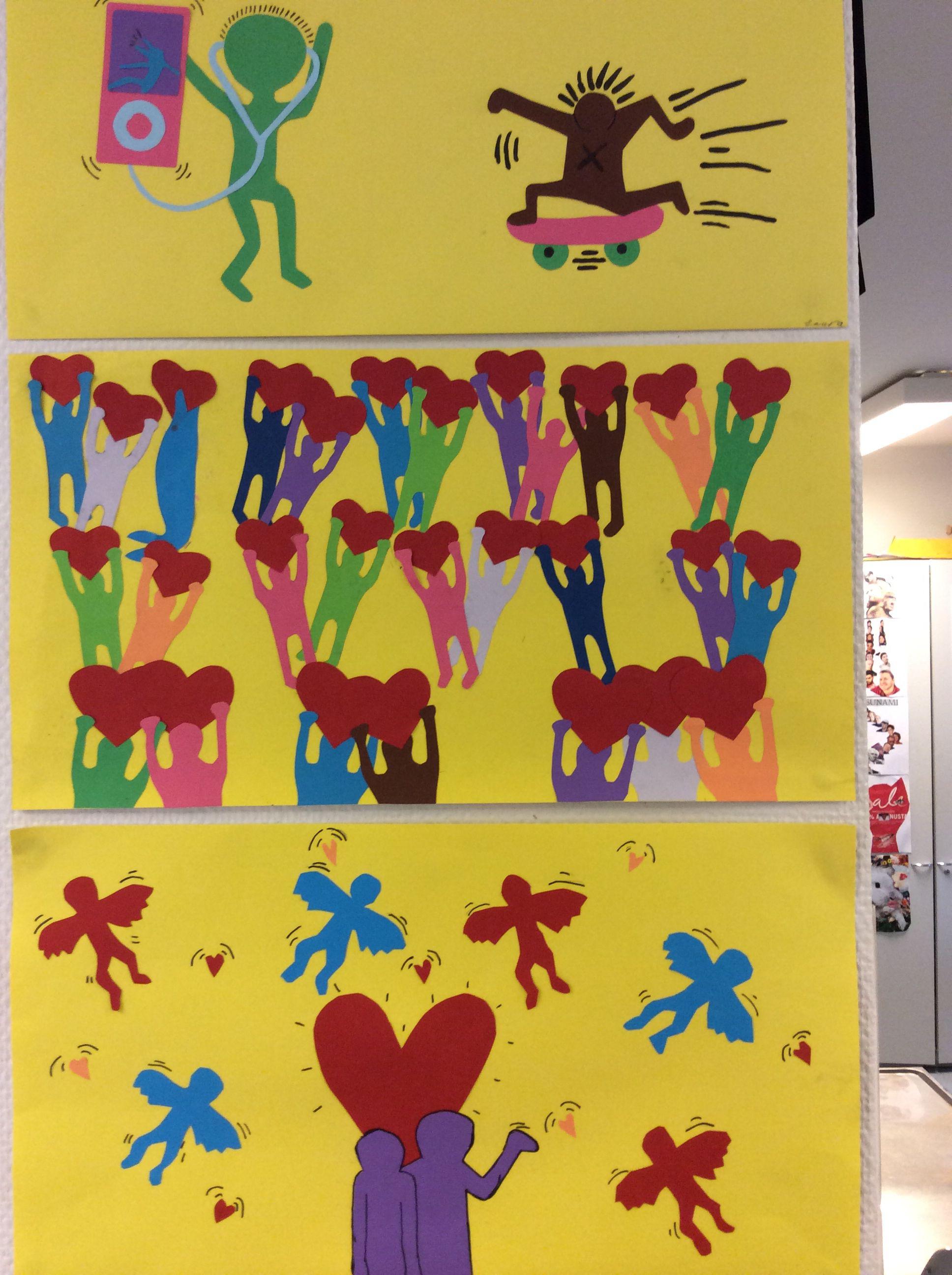 Keith Haring Tyylisia Leiketoita