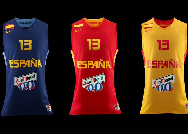 6b138587235 Nike España Baloncesto Kit