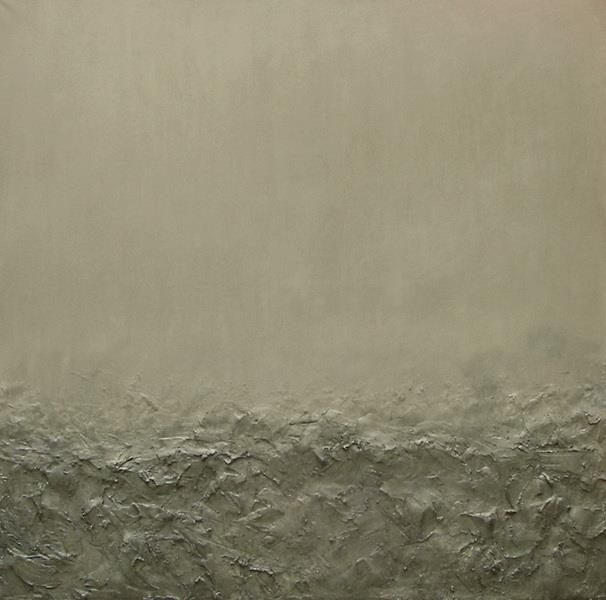 "Carlos Regueira ""No title"", Painting, Mixed media - Acrylic / Canvas, 2010, 120 x 120 cm     (via artdoxa)"