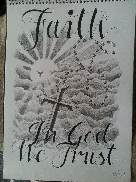 In God We Trust Tattoo Design Ink Pinterest Tattoos Tattoo
