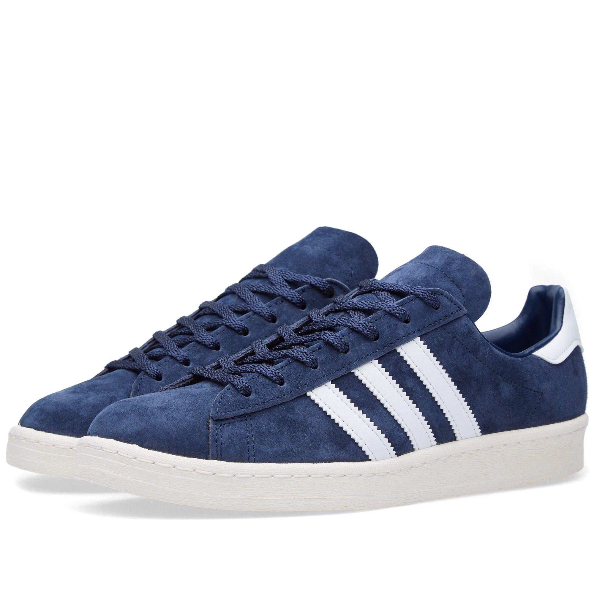 cheap for discount 2e377 731eb Adidas Campus 80s Vintage Japan (Dark Blue   Off White)