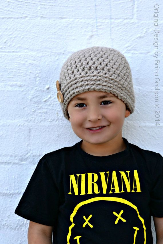 Easy Crochet Hat Pattern For Beginners Using By Bubnutpatterns