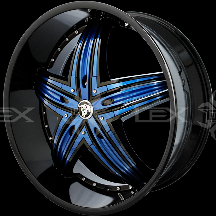 The Best Selection Of Custom Painted Wheels Chrome Wheels