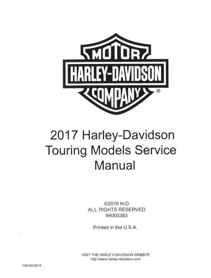 eBay #Sponsored 2017 Harley Davidson Touring model