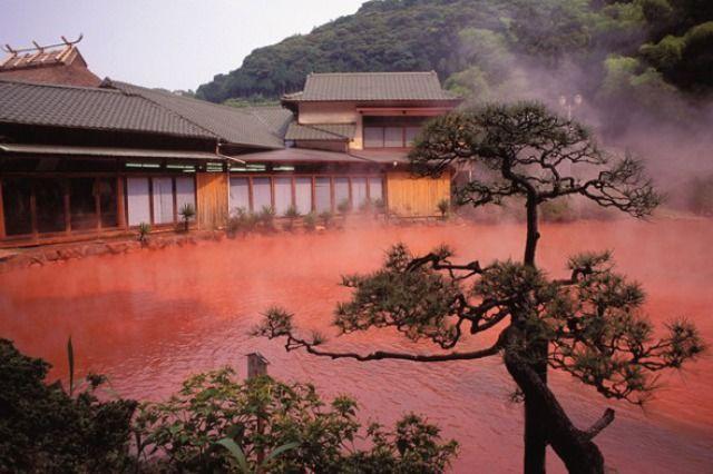Hells of Beppu, Japan