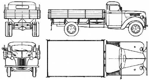 ford v 3000s  1948
