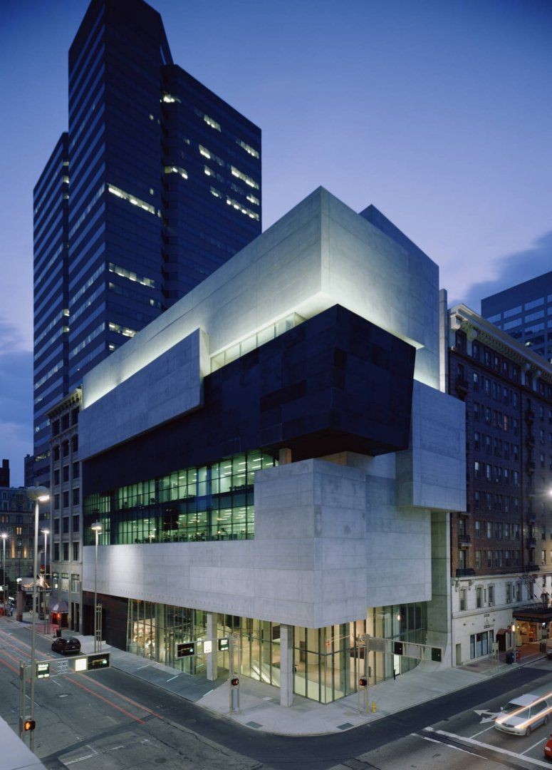 """Contemporary Arts Museum was Zaha Hadid's first American project. The NY Times called the structure """"""""the most important American building to be completed since the cold war""""."""