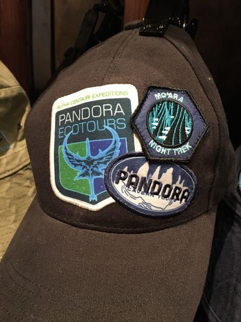 f9655fe60a87b Disney Avatar Pandora Theme Park multi-patch cap