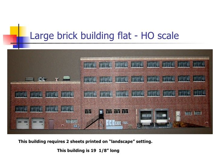 photo relating to Ho Scale Buildings Free Printable Plans known as ho scale planning Strategies totally free printable n scale constructions