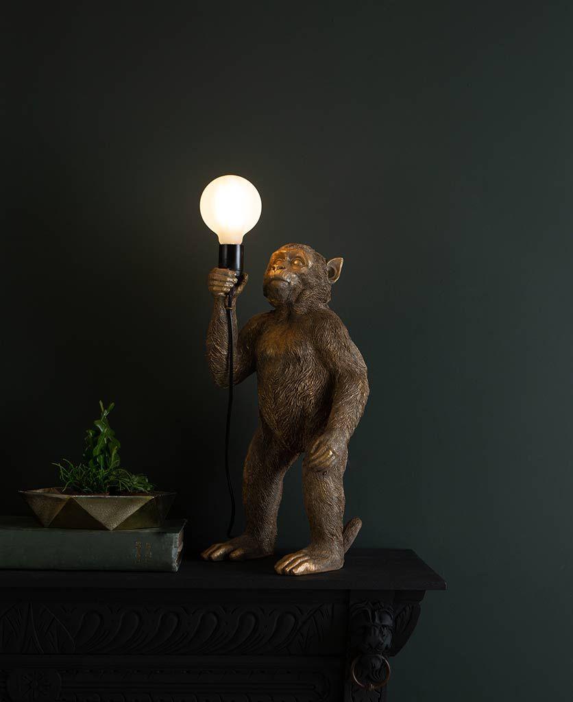 Monkey Table Lamp|Standing Monkey