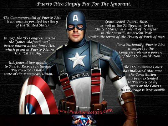 Captain America Meme Puerto Rico