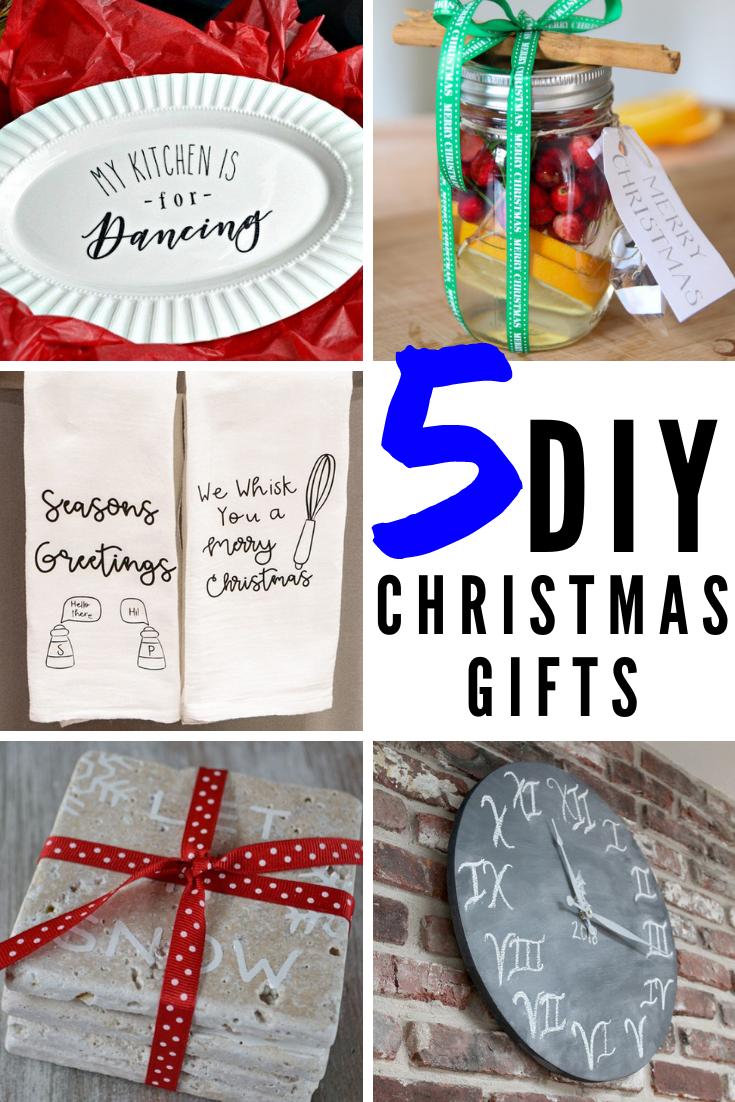 5 Diy Christmas Gifts You Can Make And Give This Year Creative Ramblings 5 Diy Christmas Gifts Christmas Gift You Can Make Christmas Projects Diy