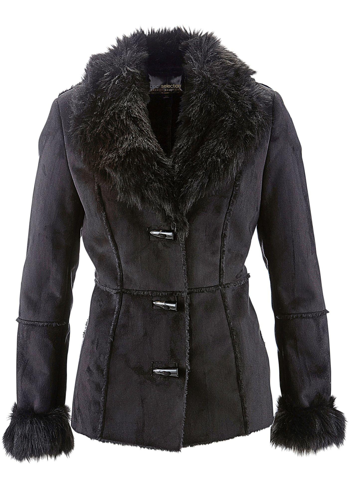 d7ad6329147 Bunda z umělé kůže černá - koupit online - bonprix.cz Elegantní bunda z  umělé kůže