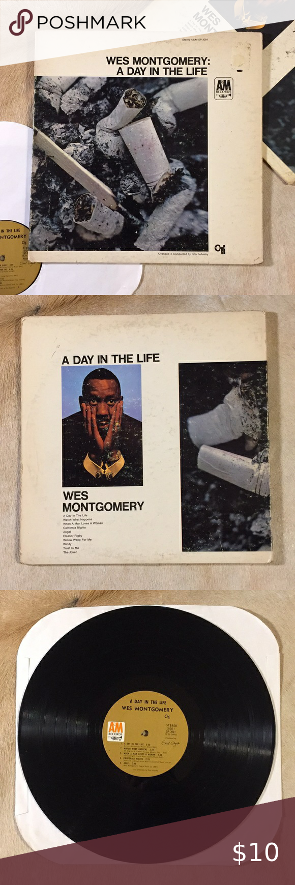 Wes Montgomery A Day In The Life Vinyl Lp In 2020 Vinyl Vinyl Records Lp Jacket