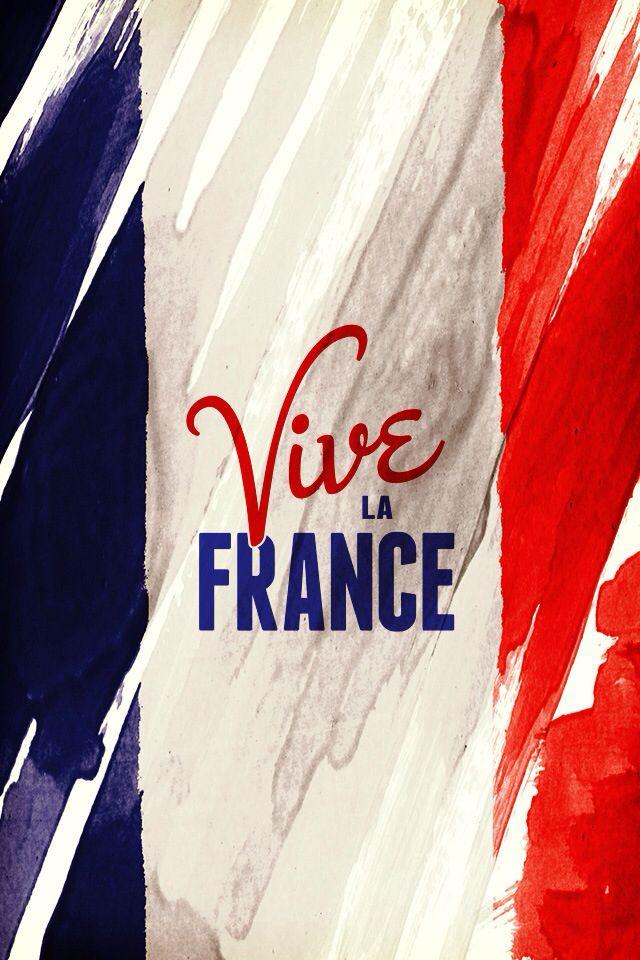 Vive Le France Fond D Ecran Telephone Bleu Blanc Rouge Couleurs De La France