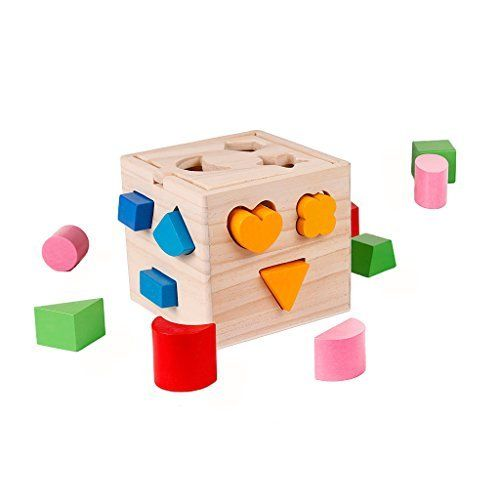 Toys & Hobbies Bright New 1 Set Kids Baby Developmental Toys Wooden Train Truck Set Geometric Blocks Wonderful Birthday Gift Educational Toy Blocks