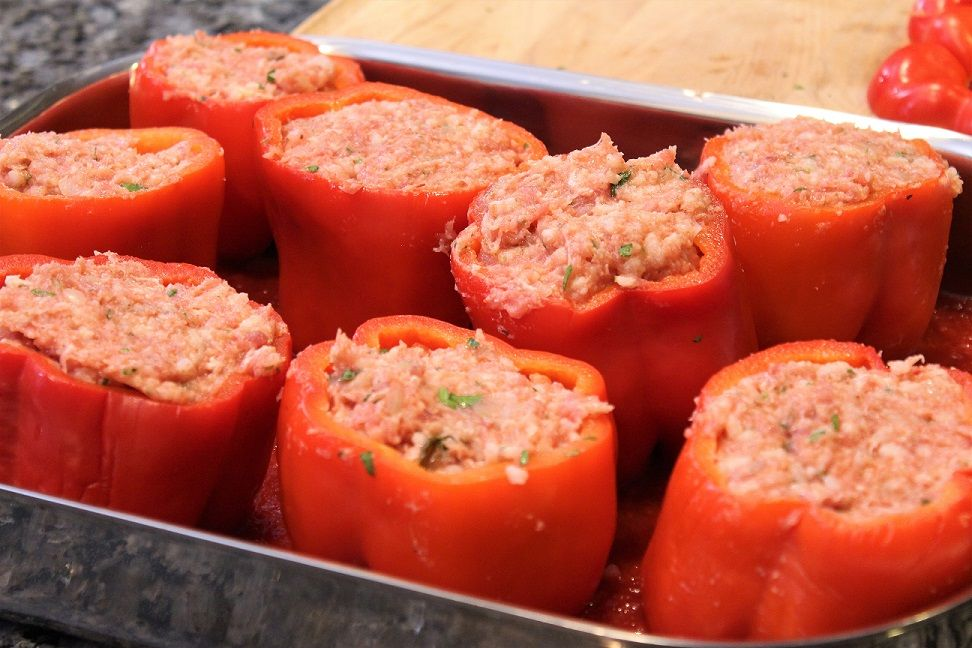 Stuffed Peppers Recipe Orsara Recipes Stuffed Peppers Recipes Peppers Recipes