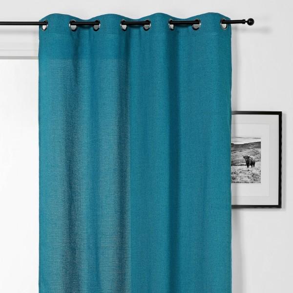 rideau tamisant 140 x 240 cm tweed