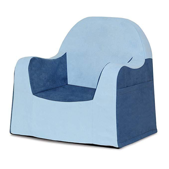 P Kolino Little Reader Chair Light Blue Review