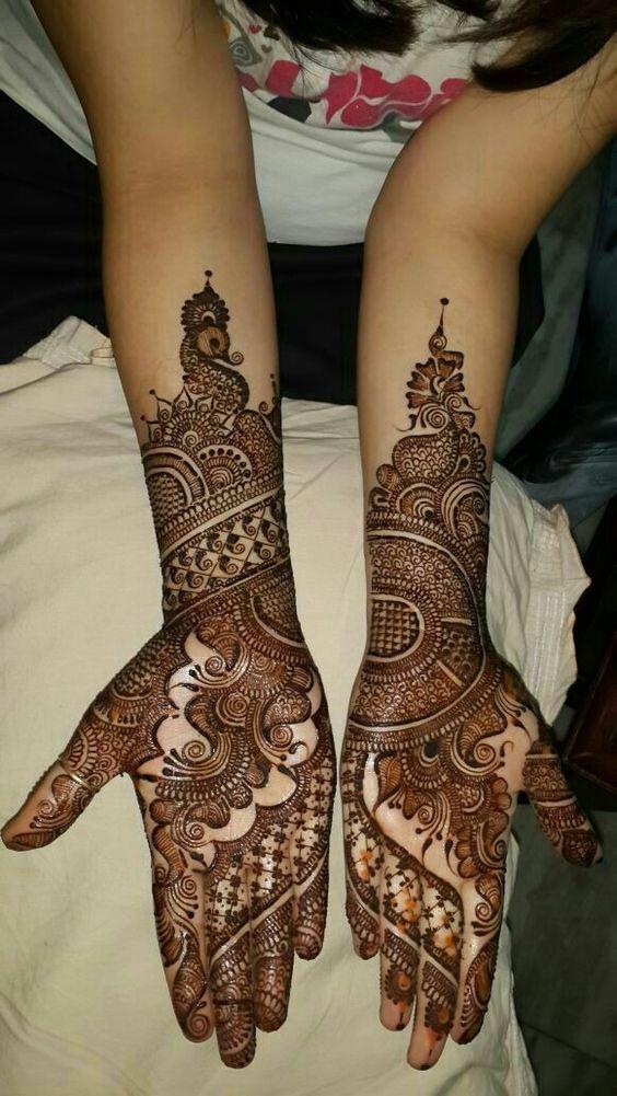 Simple floral mehndi henna designs for hands artsycraftsydad wedding best also pin by swati thakur on pinterest rh