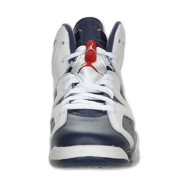 4236ea76c381e4 Boys  Grade School Air Jordan Retro 6 Basketball Shoes ( 28) ❤ liked on Polyvore  featuring shoes