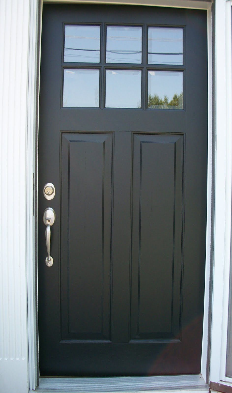 Black Single Front Doors exterior.+front+doors+9+pane | exterior : exterior single swing