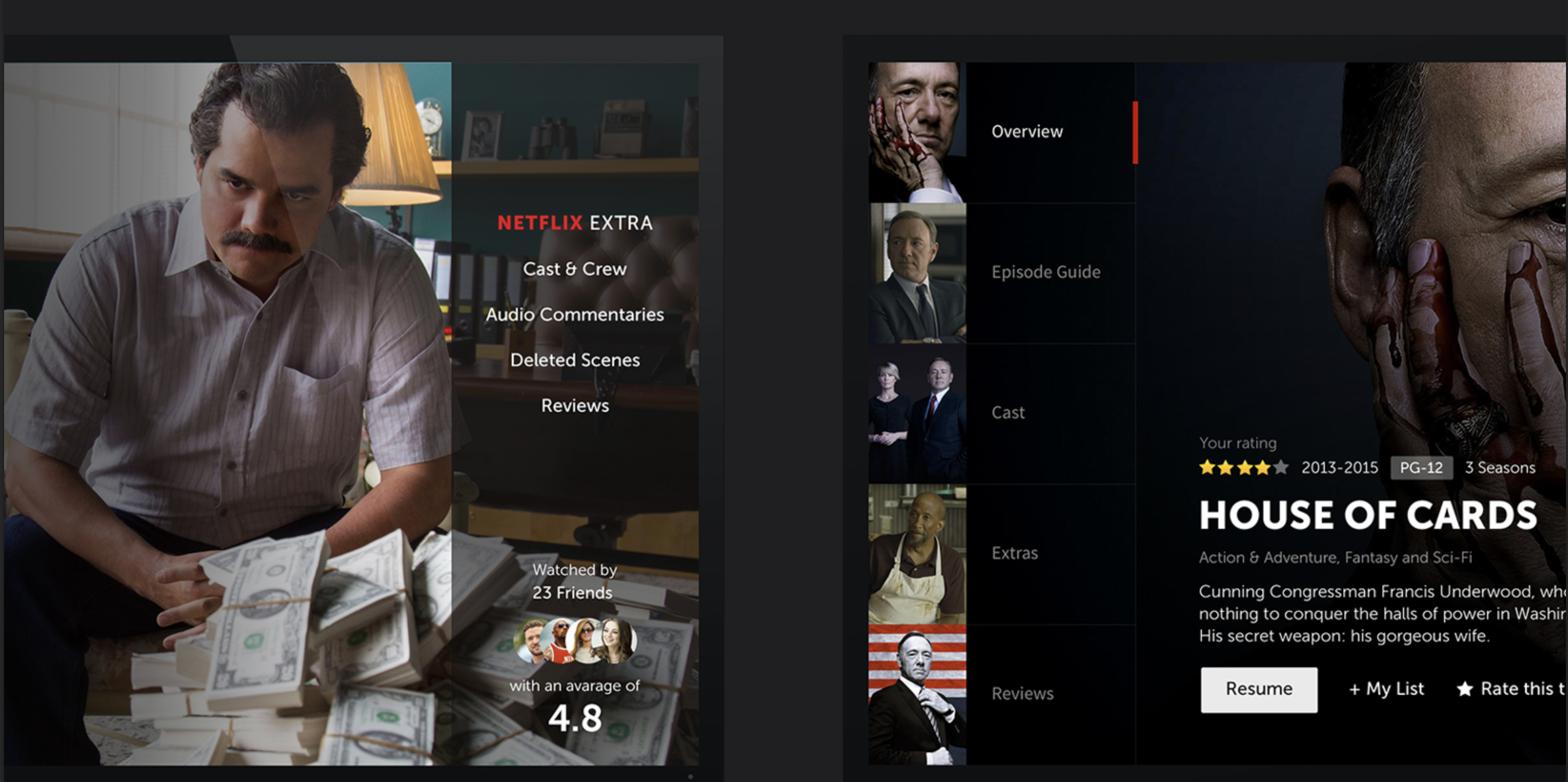 netflix Episode guide, Smart tv, Netflix