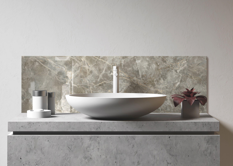 Bathroom sink backsplash diy bathroom backsplash easy
