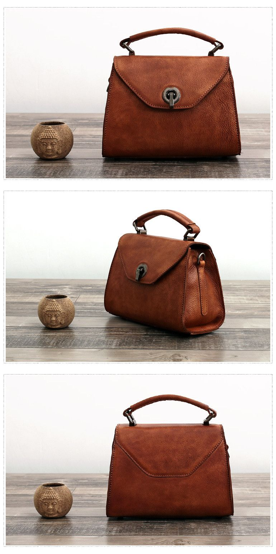a7e19ae0d9e9 Handmade Full Grain Leather Messenger Bag Designer Satchel Doctor ...
