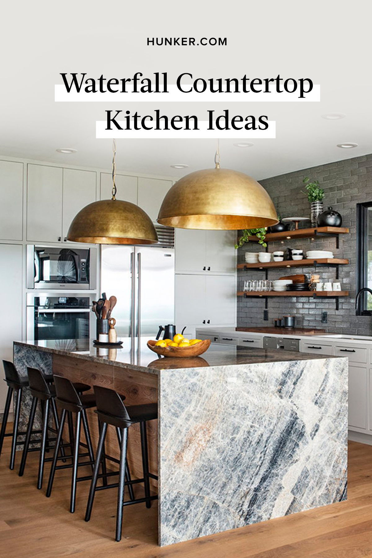 News Alert Waterfall Countertops Are No Longer Just For Marble