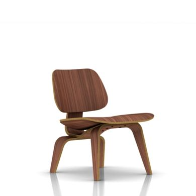 Eames Molded Plywood Lounge Chair With Wood Base   Lounge U0026 Living   Chairs    Herman