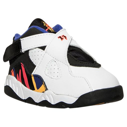 Kids  Toddler Air Jordan Retro 8 Basketball Shoes  856125031