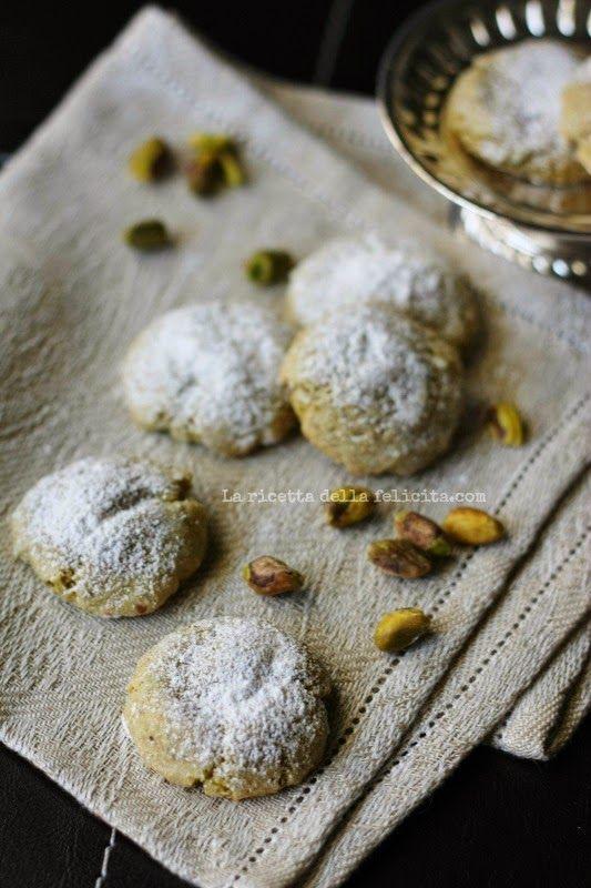 La ricetta della felicità: Amaretti al pistacchio