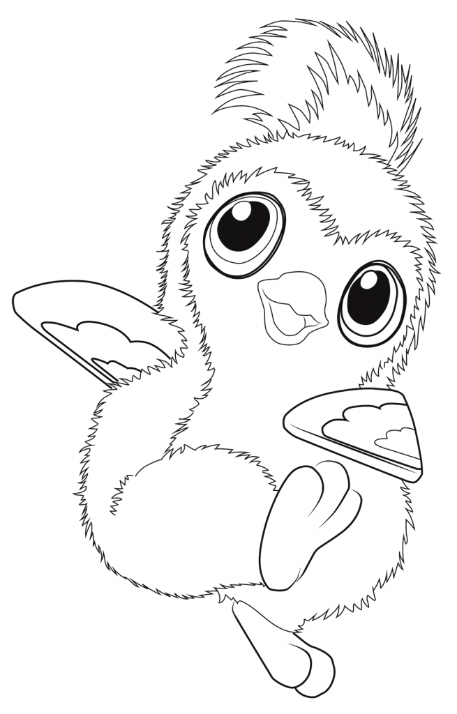 Hatchimals Coloring Pages Penguin coloring pages