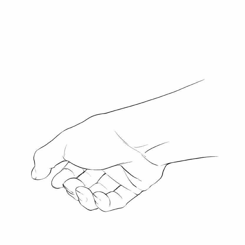 Hand Pose How To Draw Hands Drawings Hand Pose