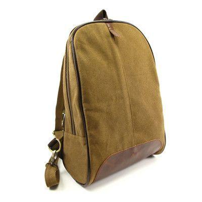 Ms. canvas bag canvas backpack vintage wholesale trade shoulder brown canves bag students school bags