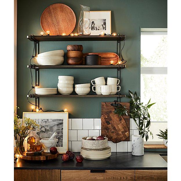 Amari Acacia Wood Platter Reviews Crate And Barrel Home Decor Boho Kitchen Kitchen Decor