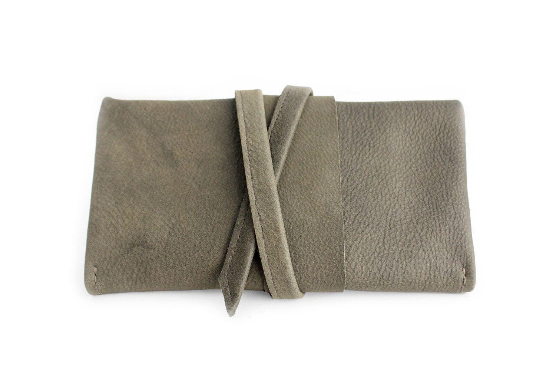 Portafoglio CRIS, portafoglio in pelle grigio, portafoglio da donna. Cris…