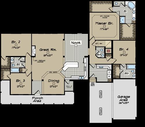 North Carolina Modular Home Floor Plans Clarendon Cape Cod Modular Home Floor Plans House Floor Plans Modular Home Plans