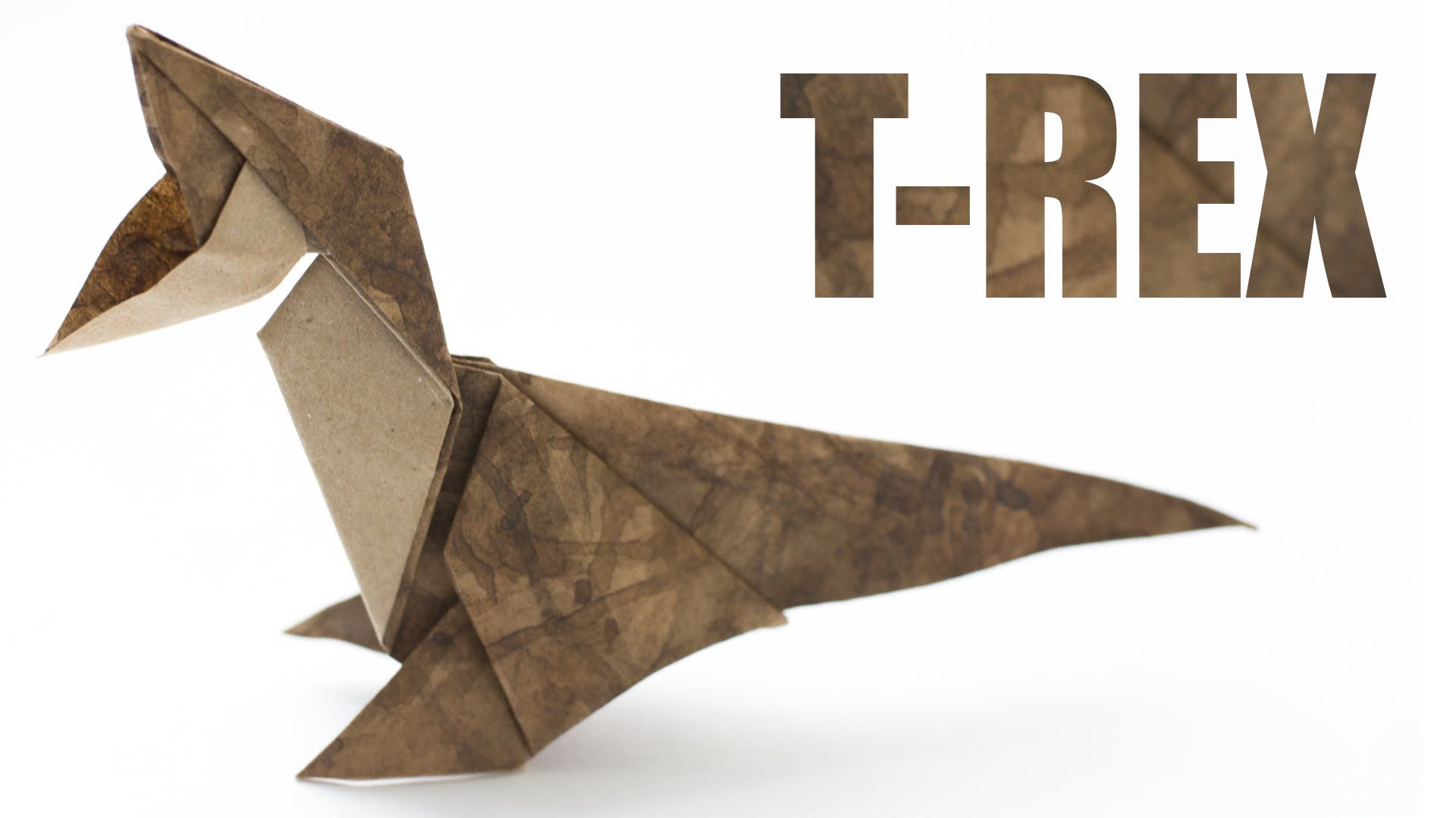 Origami dinosaur t rex origami pinterest origami simple origami dinosaur t rex jeuxipadfo Image collections