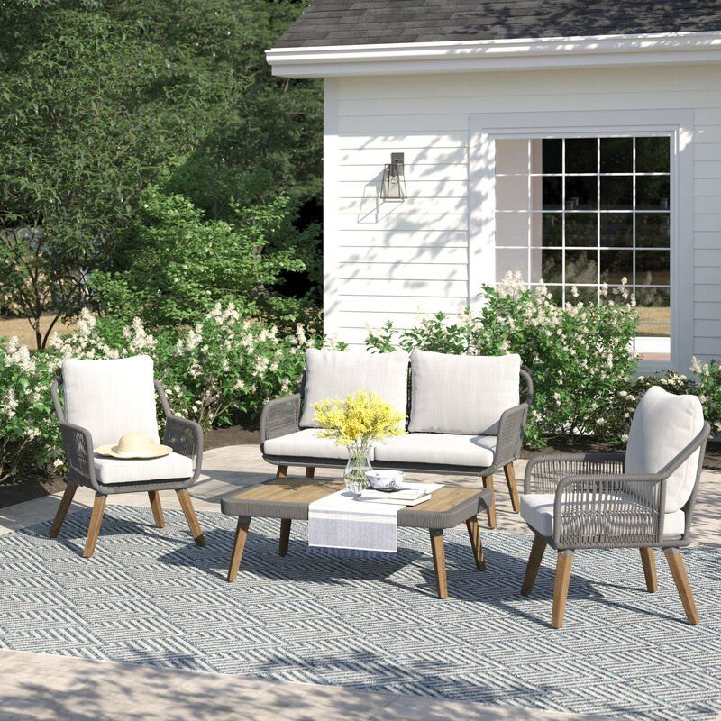 Pin On Outdoor Sofa Sets